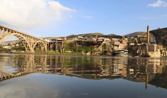 Hasankeyf'teki tarihi eserler yıl sonuna kadar taşınacak