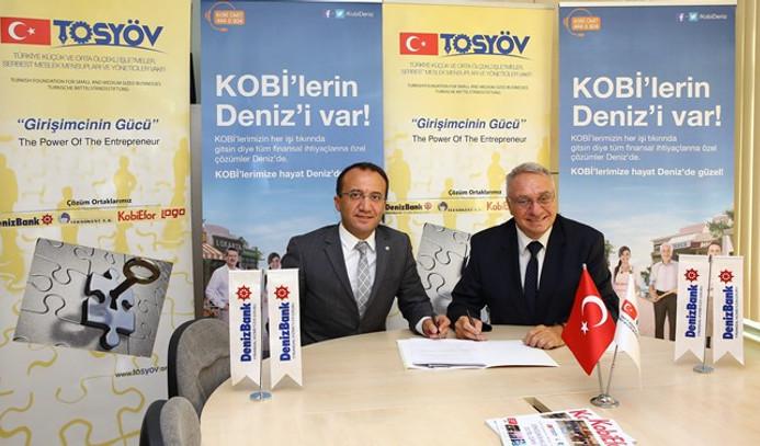 Denizbank ve Tosyöv'den KOBİ'ler için iş birliği