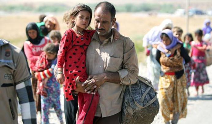 Irak'ta 180 bin kişi mecburi göç etti