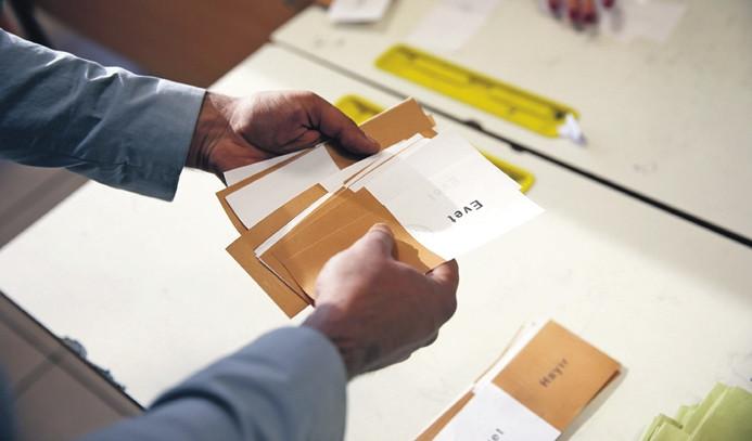Referandum sonuçları Resmi Gazete'de