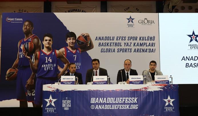 Anadolu Efes'ten basketbol yaz kampı