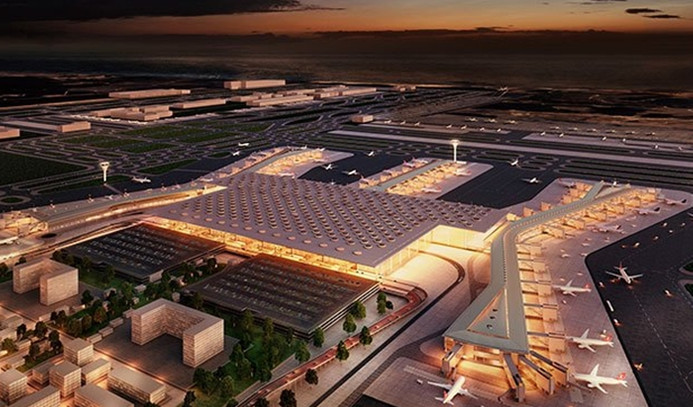İstanbul Yeni Havalimanı'nın ilk konuğu çocuklar oldu