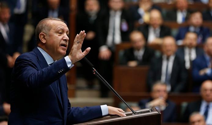 Erdoğan: Çok garip bir senaryo ortada