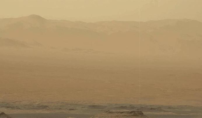 Mars'ta toz fırtınası tüm gezegeni kapladı