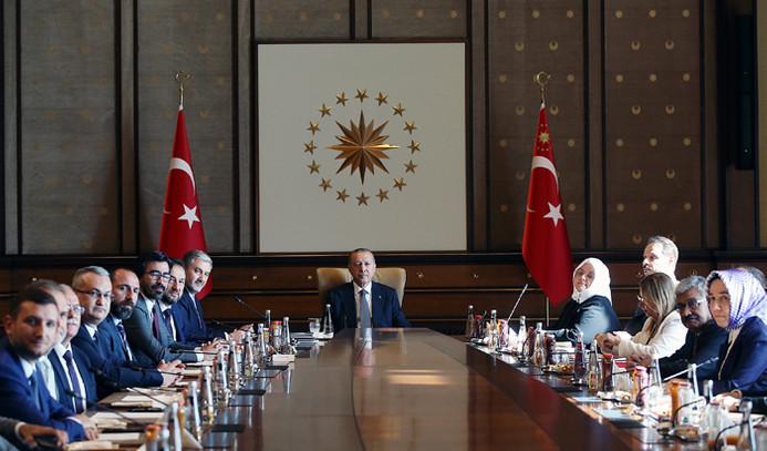 MÜSİAD'dan Cumhurbaşkanı Erdoğan'a ziyaret