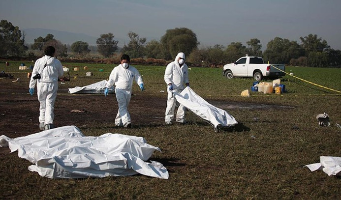 Meksika'da boru hattında patlama: 21 ölü