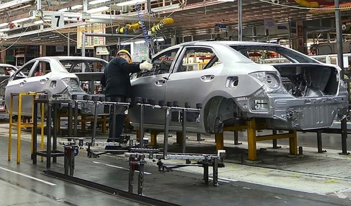 Otomotiv üretimi 8 ayda yüzde 11 azaldı