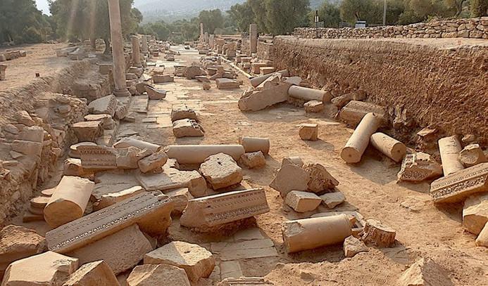 Antik dünyanın mimari ve mühendislik örnekleriyle bezenmiş eğitim ve kültür kenti Nysa