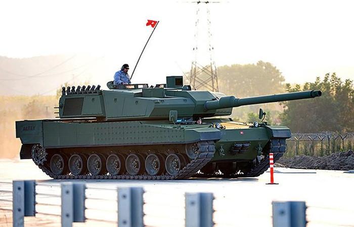 Altay tankı ihalesi sonuçlandı