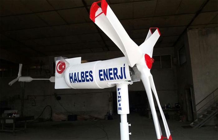 Dünyanın en verimli rüzgar türbini Türkiye'de üretiliyor