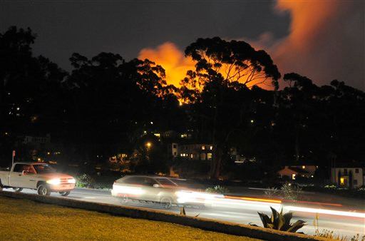 Montecito'da yangın, ünlüleri korkuttu