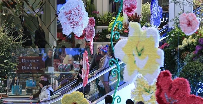 'Dünyanın en büyük mağazası' çiçek açtı