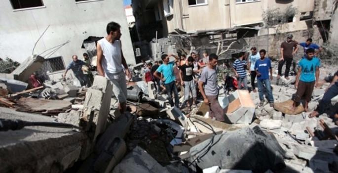Gazze'de bilanço çok ağır
