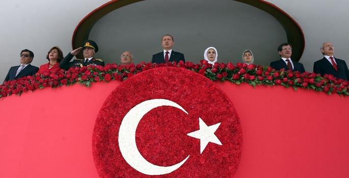 AKM'de resmi geçit töreni düzenlendi