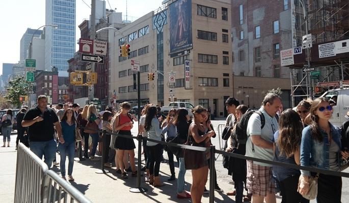 New York'ta 'Friends' çılgınlığı