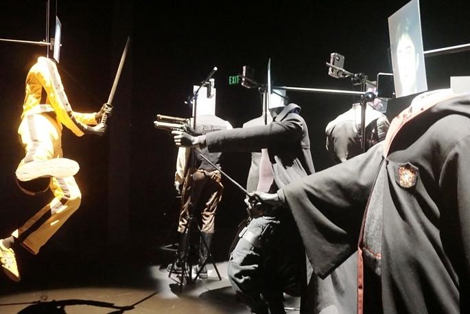 ABD'de Hollywood Kostümleri sergisi