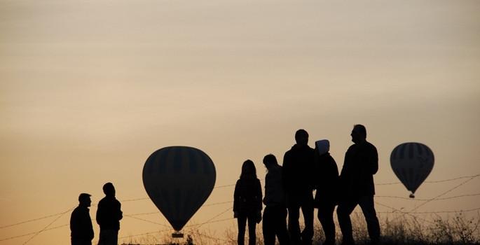 Balonlar Cumhuriyet Bayramı için havalandı