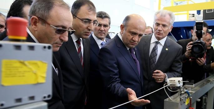 Petkim Yeni Etilen Fabrikası açıldı