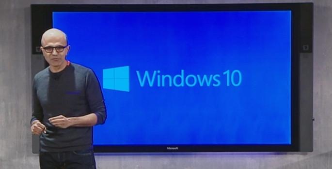 Microsoft 'Windows 10'u tanıttı