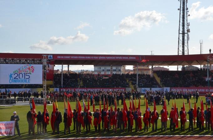 Çanakkale Zaferi'nin 100. Yılı kutlanıyor