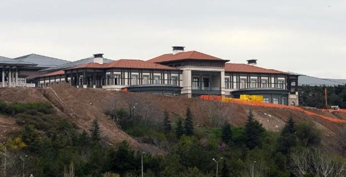 Erdoğan'ın Saray'daki konutu