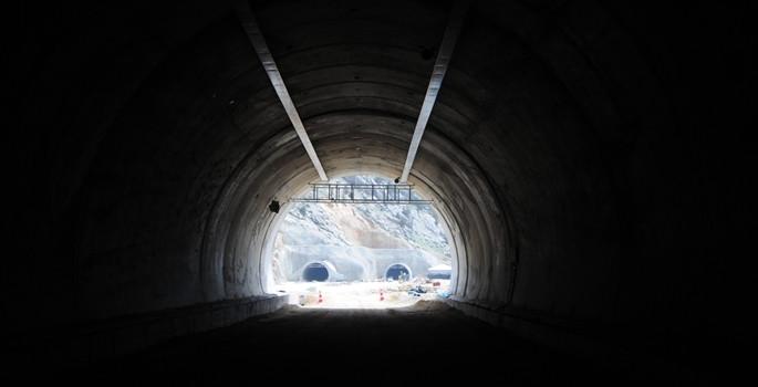Bölgeleri birbirine bağlayan tüneller açılıyor