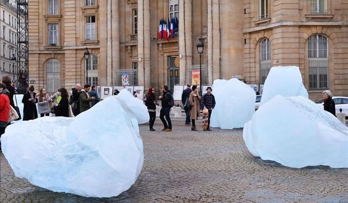 'Grönland'ın parçaları' Paris'te sergileniyor