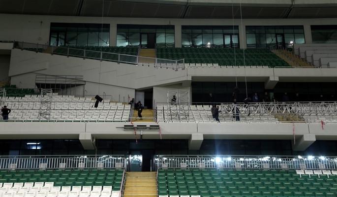 'Timsah Arena' kapılarını açıyor
