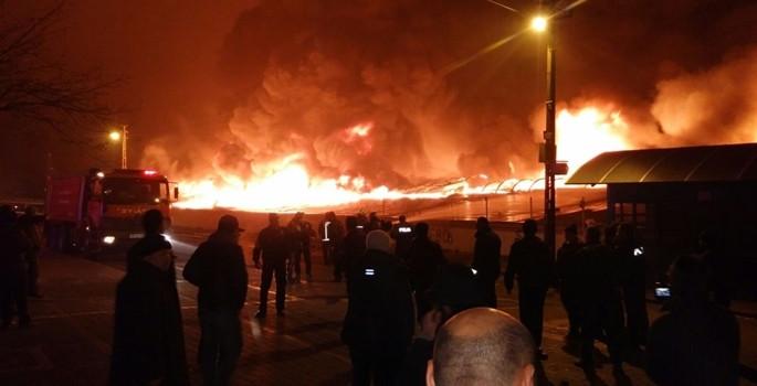 Ankara'da 250 iş yeri kül oldu