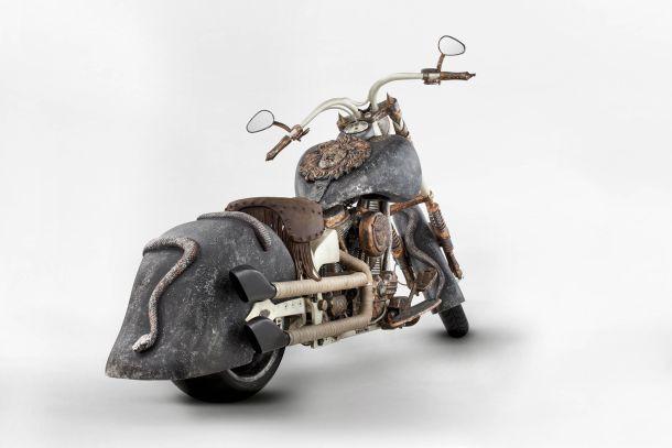 Motosiklet tutkunları buna bayılacak
