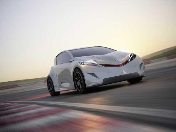 Honda'nın elektrikli konsepti R-EV