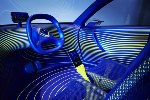 Renault'dan teknoloji çağına şehirli konsept