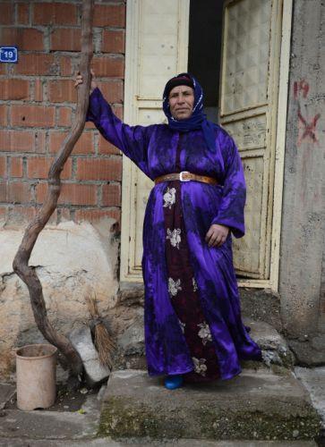 Türkiye mozaiği kadınların üzerinde