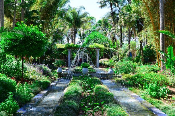 """Fas'ın """"Muhteşem Bahçeler""""i"""