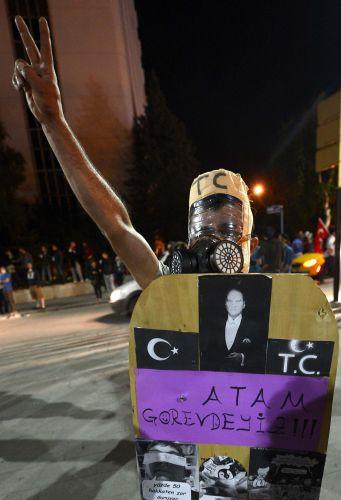 Ankara'da dün gece