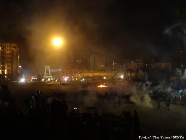 Göstericiler Harbiye'de direniyor - Sayfa 1