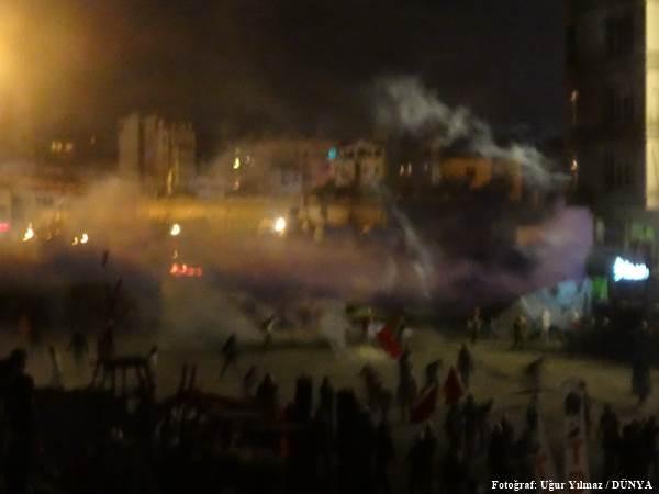 Göstericiler Harbiye'de direniyor - Sayfa 2