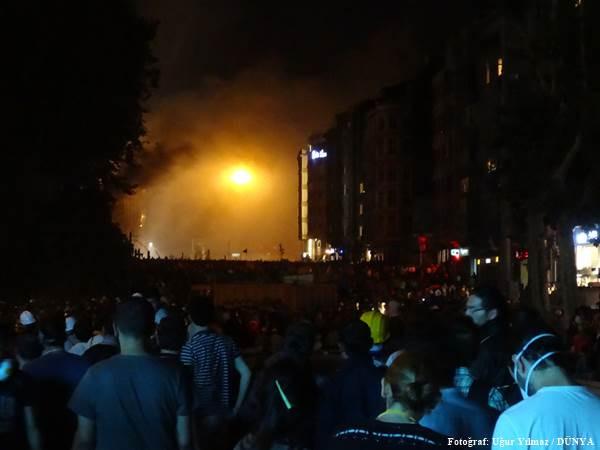 Göstericiler Harbiye'de direniyor - Sayfa 3
