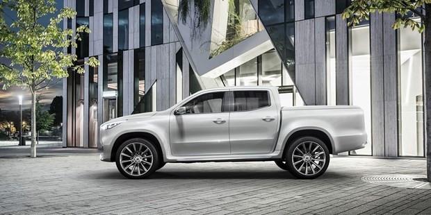 Mercedes-Benz Concept Pickup'ı tanıttı