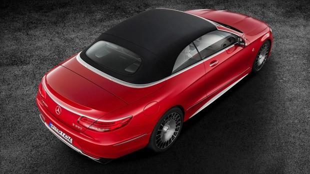 Mercedes Maybach S 650 Cabriolet'i tanıttı