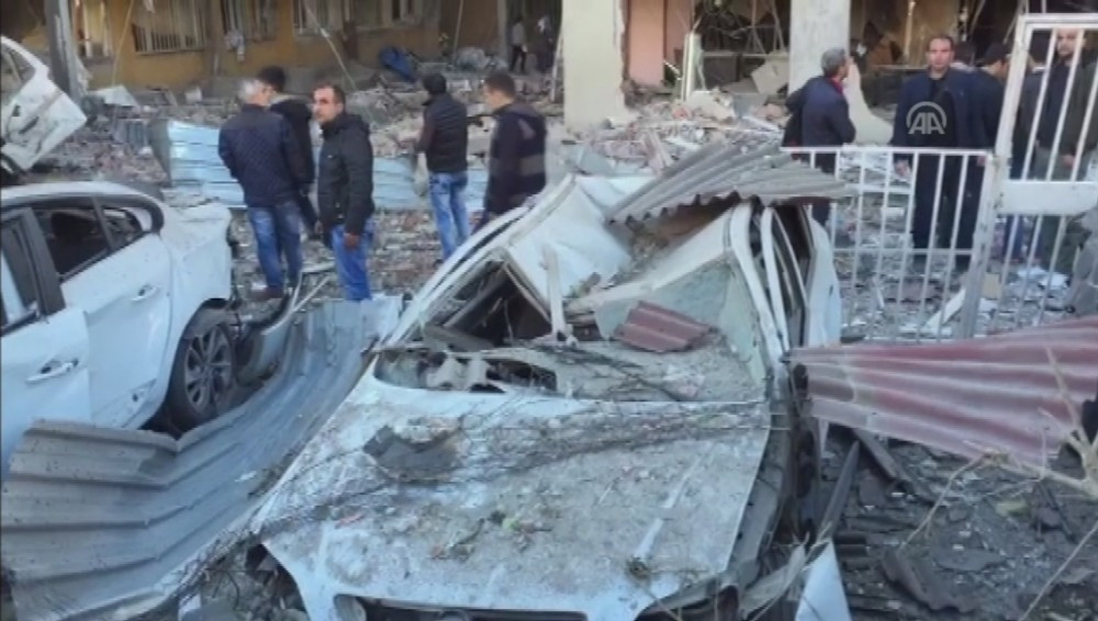 Diyarbakır'daki patlamadan ilk görüntüler