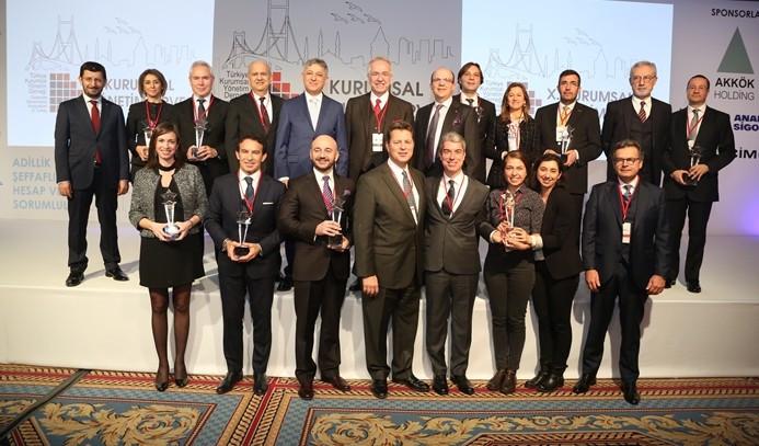 Kurumsal Yönetim Ödülleri sahiplerini buldu