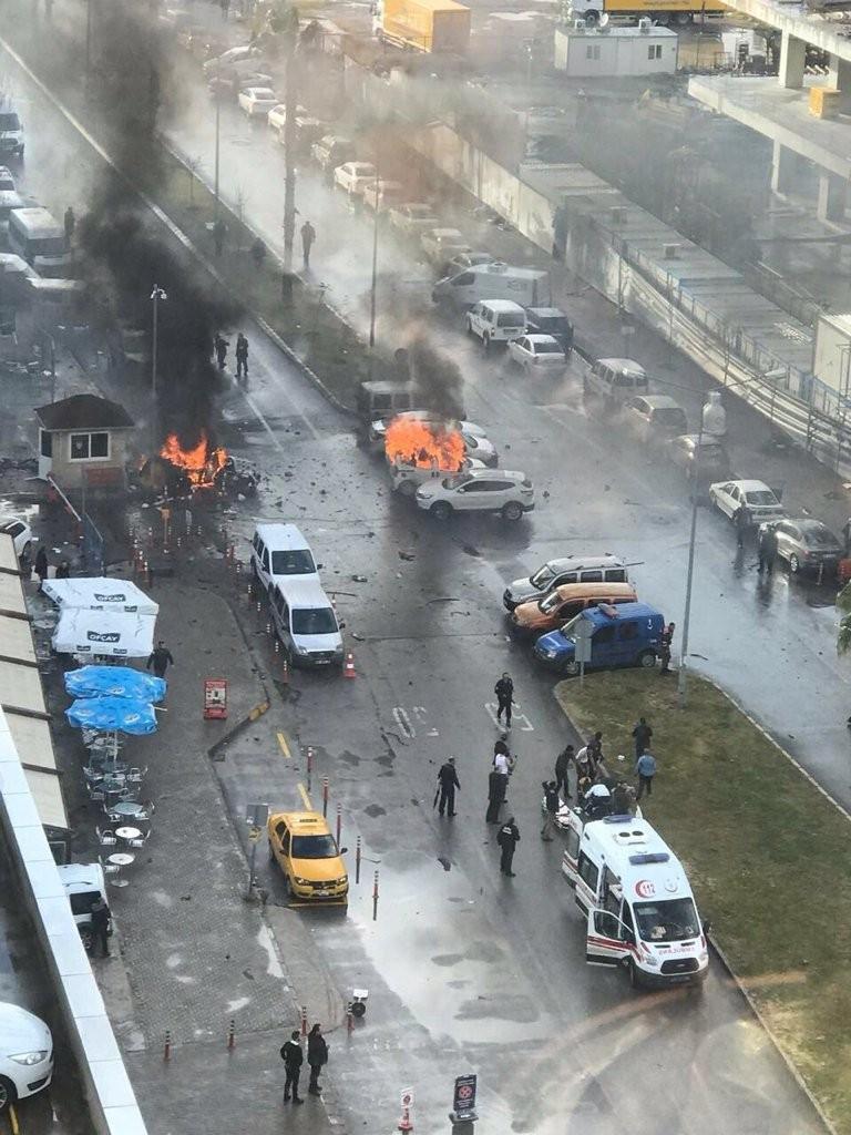 İzmir'de patlama