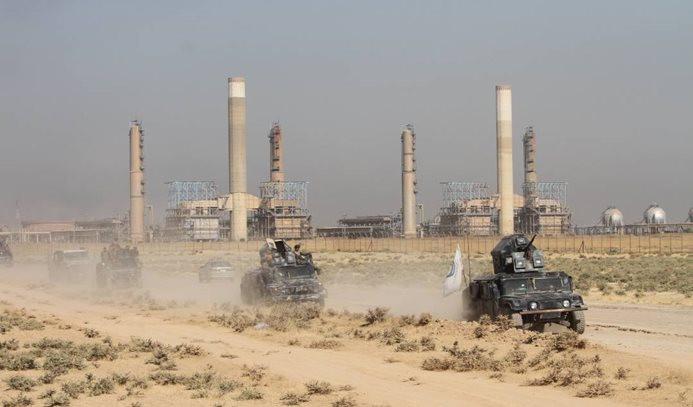 Irak ordusu Kerkük havaalanını geri aldı