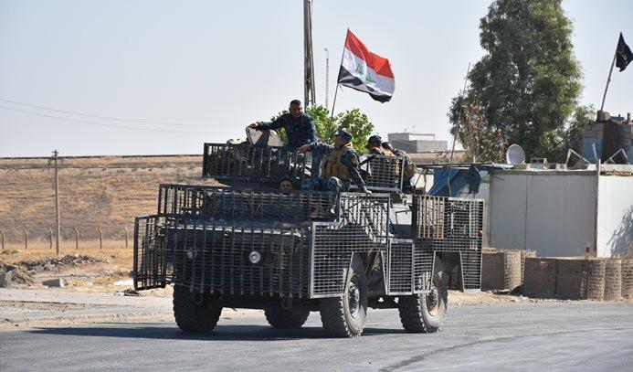 Irak ordusu Sincar'da