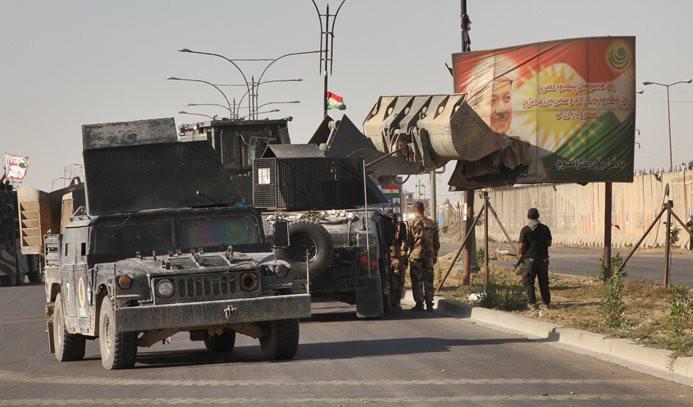 Kerkük, Irak ordusunun kontrolünde