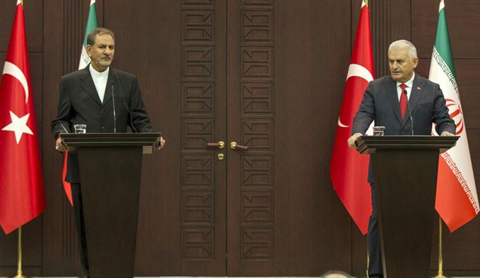 Başbakan Yıldırım ve  Cihangiri ortak basın toplantısı düzenledi