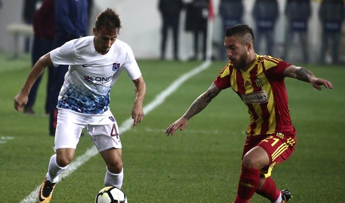 Trabzonspor, Yeni Malatyaspor'a mağlup oldu