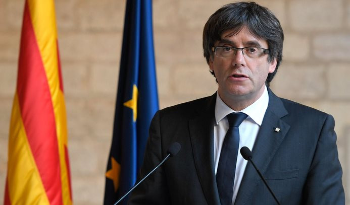 Katalan lider: Ülkenizi koruyun