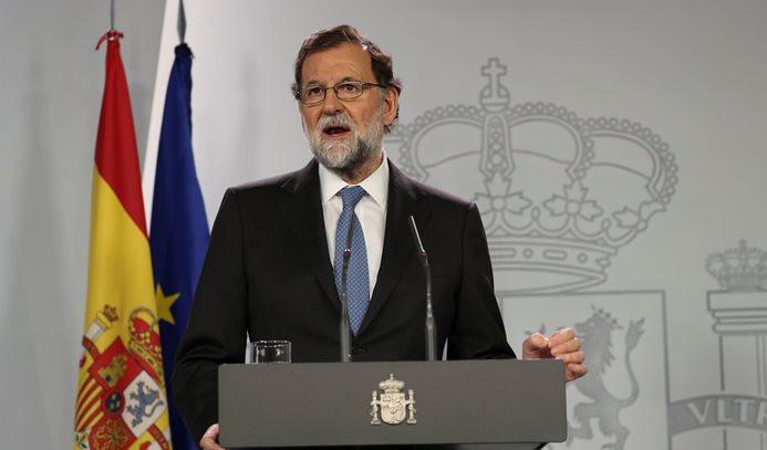 Katalonya'ya yaptırımlar yürürlüğe girdi